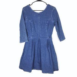 ASOS denim style dress